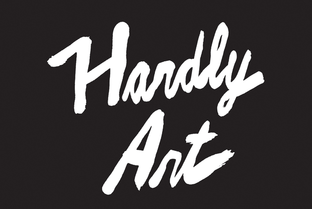 Hardly art stacked black