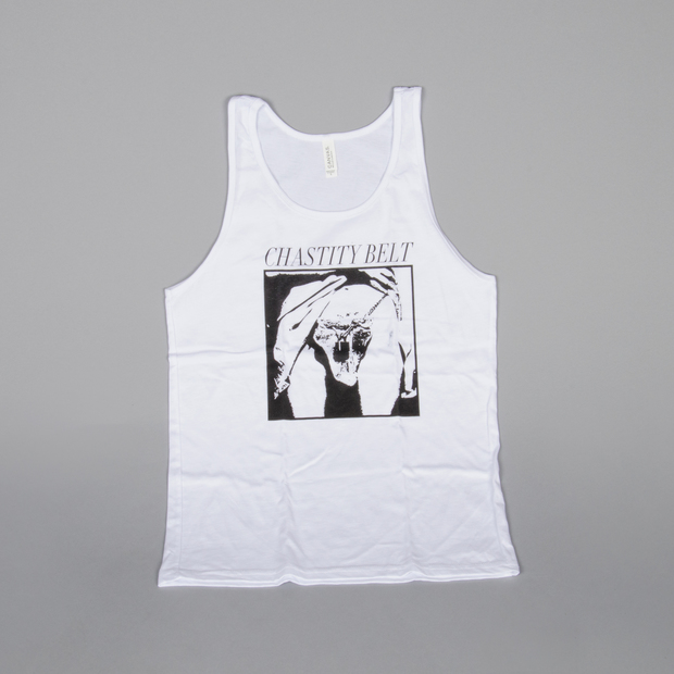 Chastitybelt tanktop white 01