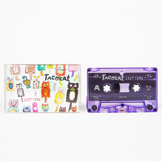 Tacocat losttime cassette 01