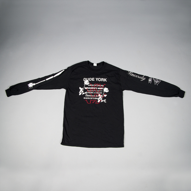 Dudeyork sincerely longsleeveshirt black 01