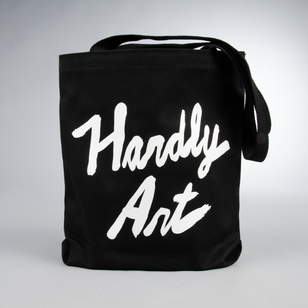 Hardlyart logotote black 01
