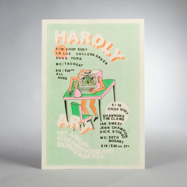 Hardlyart anniversary poster 01