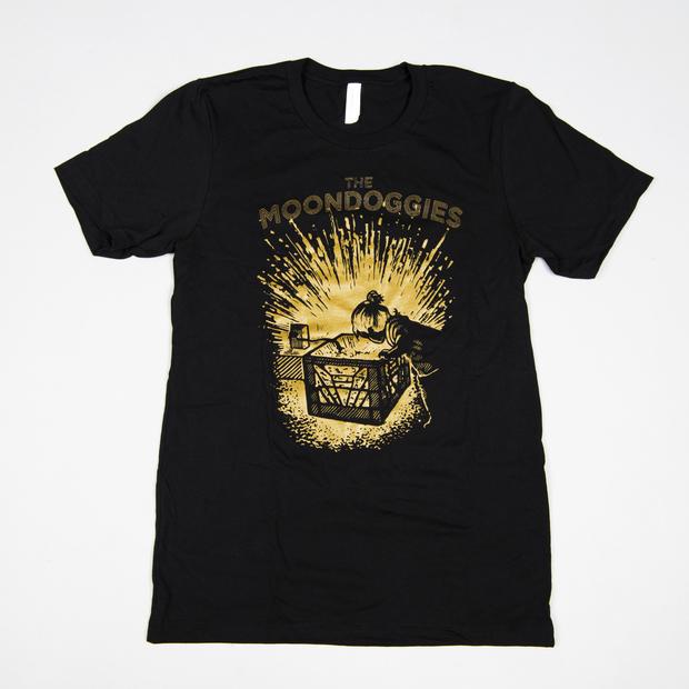Themoondoggies alovesleepsdeep tshirt blackandgold 01