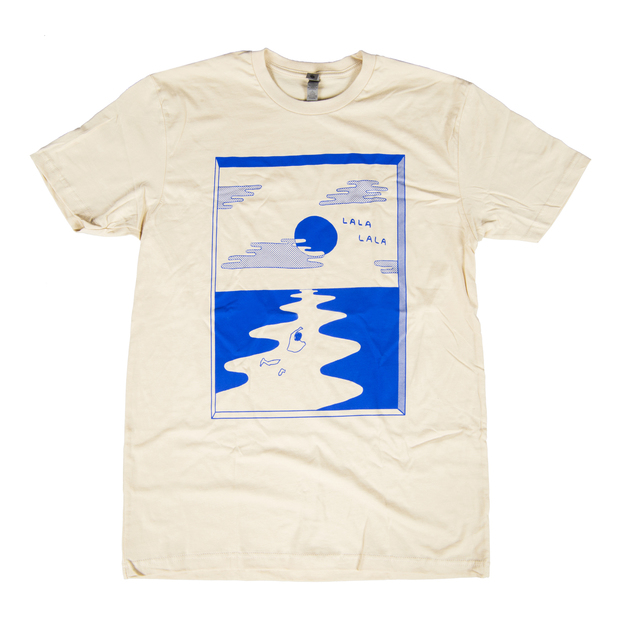Lalalala thelamb tshirt cream