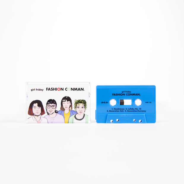 Girlfriday fashionconman cassette 01